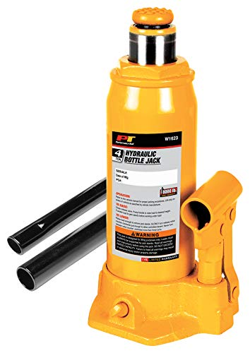 Performance Tool W1623 4-Ton (8,000 lbs.) Heavy Duty Hydraulic Bottle Jack