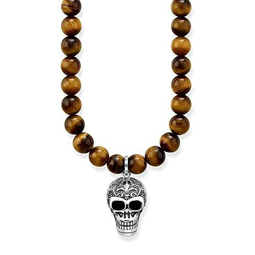 Thomas Sabo KE1639-826-2-L60 Chaîne avec pendentif pour homme en argent sterling 925