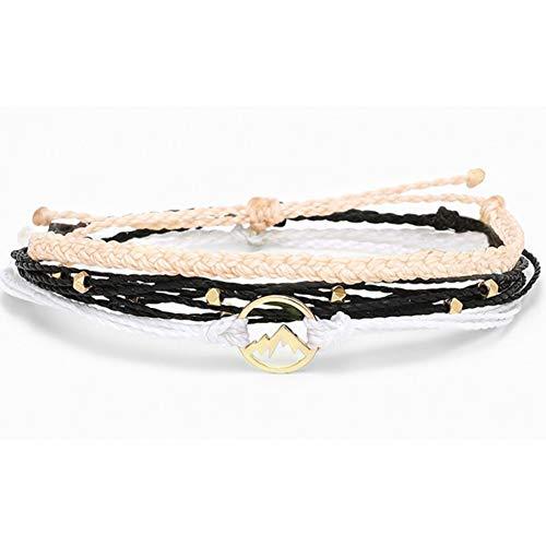 DMUEZW armbanden voor vrouwen strand surf armbanden femme pokemon handgemaakte golf bedels armband