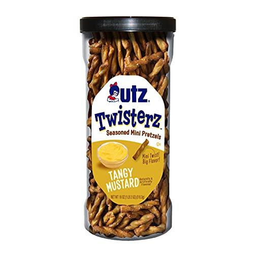 Utz Twisterz Seasoned Mini Flavored Tangy Mustard Crunchy Pretzel Only $6.99 (Retail $10.91)