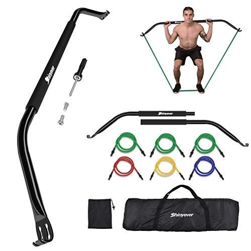 Shinyever Bow Portable Home Gym Bandes de résistance fitness noire originale