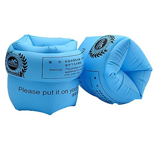 Schwimmen Armbands für Schwimmreifen Schwimmen Armbands, 3 - 80 Jahre, 30-200kg, Schwimmscheiben mit Delphin Design für Schwimmbad, Pool, Strand et