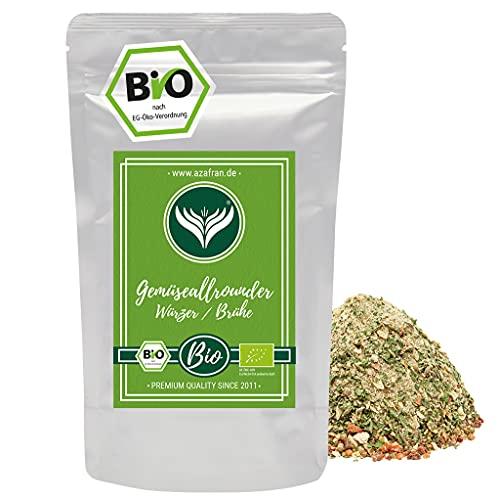 Azafran BIO Gemüsewürzer bzw Brühe ohne Hefe, Glutamate, Fett und Zucker 500g