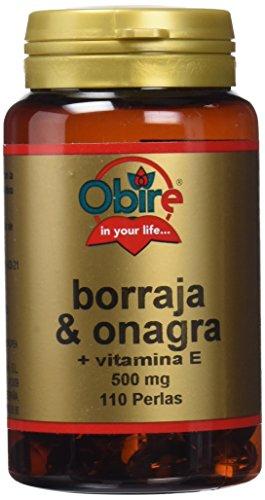 OBIRE BORRAJA & ONAGRA 500 mg 110 perlas