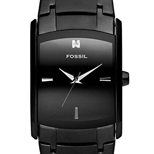 Fossil - FS4159 - Montre Homme - Quartz Analogique - Montre en Acier Noir - Bracelet en Acier Noir