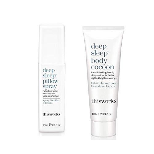 ThisWorks Set: Deep Sleep Pillow Spray (75ml) & Deep Sleep Body Cocoon (100ml)