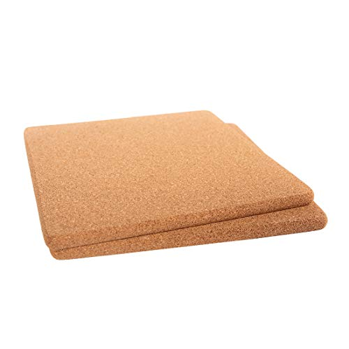 Cork Trivets Round,8.66-Inch Each (22cm x 1cm), Set of 2