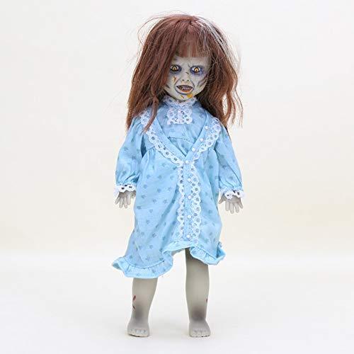 xinyawl Plüschtier 25cm Terror Film Die Exorcist Lebenden Toten Puppen mädchen Action Figur Spielzeug Kinder