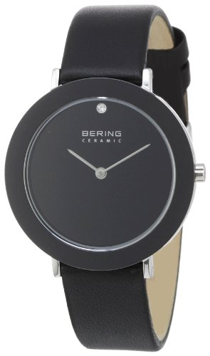 BERING Damen-Armbanduhr Analog Quarz Leder 11435-442