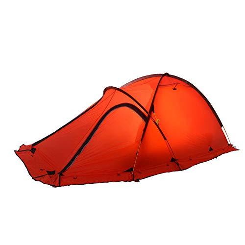 AOGUHN-tent - Professionele tent 2-persoons ultralicht vier seizoenen gecoat met siliconen, bestand tegen zware regen, bergkampeertenten