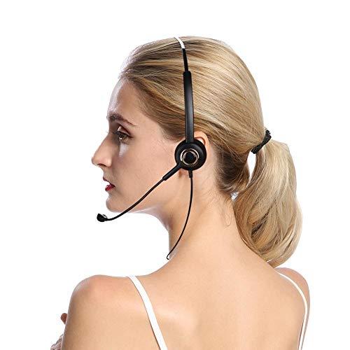 Bicaquu Auriculares para teléfonos inalámbricos Libremente telescópicos Alta comunicación de Voz Clara...