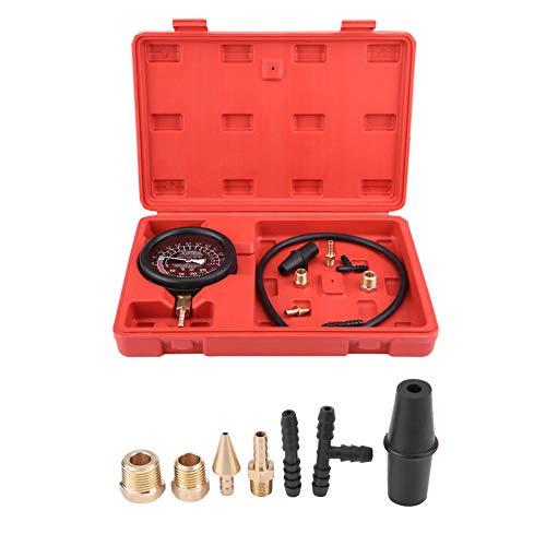 Automotor Vakuum Kraftstoffpumpe & Vakuumtester, Vergaser Druckdiagnose Leckage Tester, Vergaser Ventil Drucktester Manometer Kit