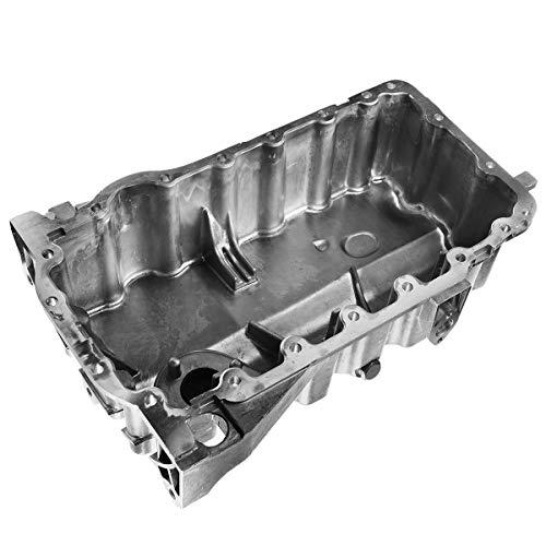 A-Premium Engine Oil Pan Compatible with Audi A3 2006-2008 TT Quattro 2009-2014 Volkswagen Jetta Passat GTI 2006-2008 Eos Golf R l4 2.0L