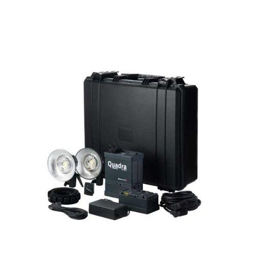 Elinchrom Ranger Quadra RX-AS Pro Set S mit Generator, Akku, Sync Kabel, Ladegerät, Gurt und Fackel