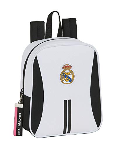 safta 612054232 Mochila guardería niño Adaptable Carro Real Madrid CF