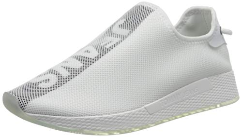 Tommy Jeans Womens LILLY 9C Sneaker, Weiß, 39 EU