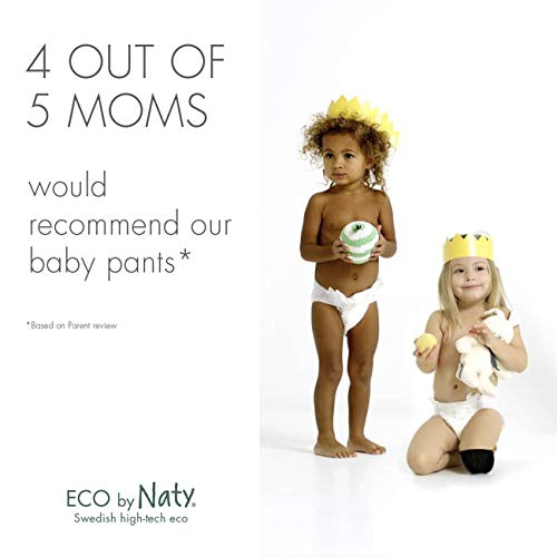 Couches-culottes d'apprentissage Eco by Naty, Taille 6, 18 couches, +16 kg, Couches écologiques...