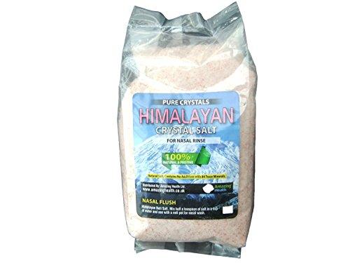 Amazing HealthNeti Salt - Natural Himalayan Salt 1kg - Fine