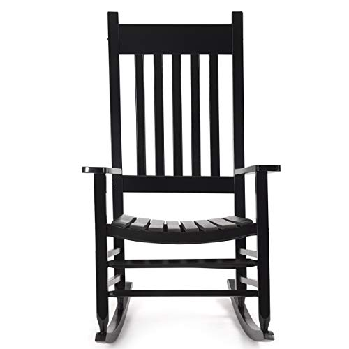 Karlory Outdoor Wood Rocking Chair