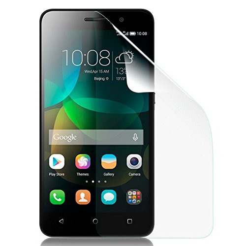 Saxonia Bildschirmschutzfolie für Huawei Honor 4C Folie Klar inkl. Mikrofasertuch