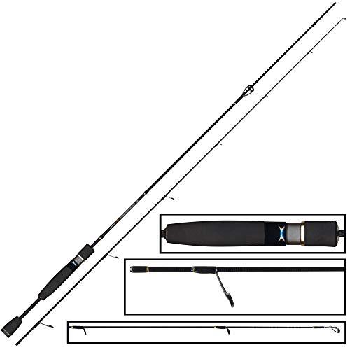 FTM Spoon XP 13 2,01m 1-4g Ultra Light Rute, Spinnrute für Forellen, Angelrute zum Spoonangeln, Forellenrute zum Spinnfischen