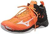 Mizuno Wave Momentum Mid, Zapatos de Voleibol Unisex Adulto, Naranja (Orangecfish/Wht/Black 54), 45 EU