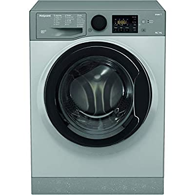 Hotpoint RDG9643GKUKN Futura 9kg Wash 6kg Dry 1400rpm Freestanding Washer Dryer - Graphite