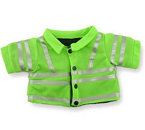Hi Viz Uniform Jacket Teddy Clothes Costume fits Build a Bear