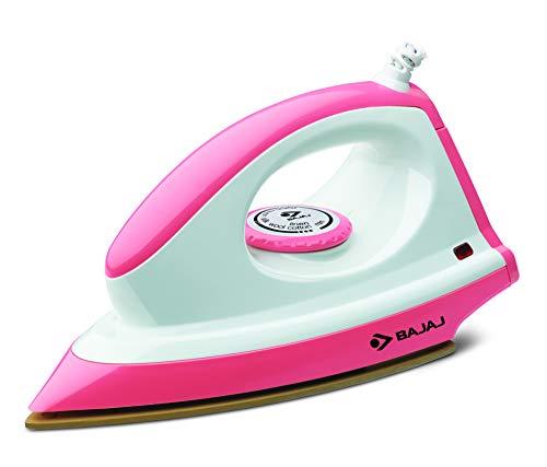 Bajaj Majesty Canvas Pink 1000 Watts Dry Iron