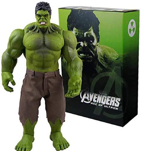 JUIANG 42 cm Avengers Hulk Statue Anime-Cartoon-Charakter-Modell-Dekoration Avengers Hulk Statue