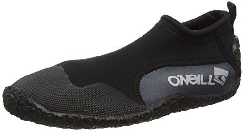 O'Neill Wetsuits Erwachsene Schuhe Youth Reactor Reef Boots Surfschuhe, Black, 34
