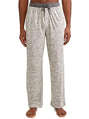 Hanes X-Temp Men`s Jersey Pant with ComfortSoft Waistband Oatmeal from Hanes
