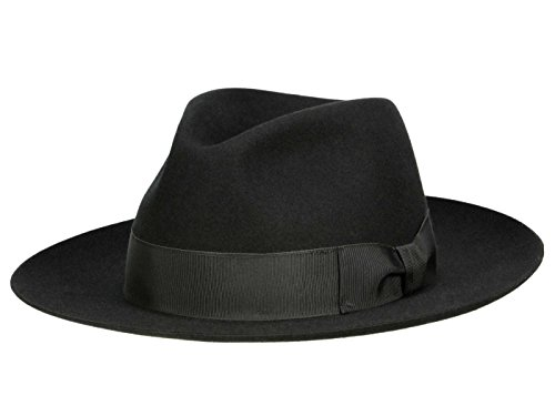 Mayser Homme Chapeau Fedora Atos noir