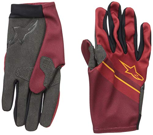 Alpinestars Herren Aspen Plus Glove Handschuhe Kinder, burgunderfarben, L