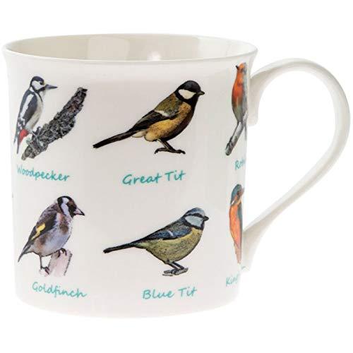 Lesser & Pavey Hübsche Tasse Singvögel in Einem Geschenkkarton - Höhe 8,2 cm