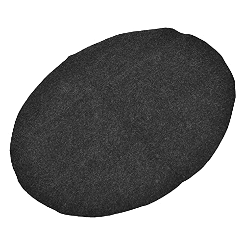 OUTDOOR GRILL MATS OIL PROOF GRILL MAT WASHABLE FLAME RETARDANT REUSABLE ROUND FOR UNDER GRILL FOR DECK