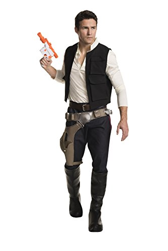 Rubie's Costume Co Star Wars Classic Grand Heritage Han Solo Costume, Multi, Men's Extra-Large