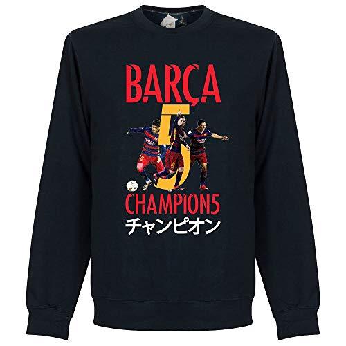 Barcelona Club World Cup Sweatshirt - Navy - XXL