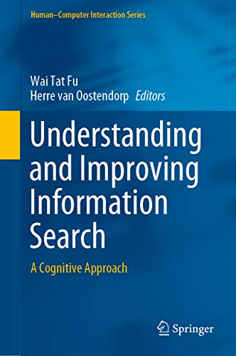 Understanding and Improving Information Search: A Cognitive Approach (Human–Computer Interaction Series) (English Edition)