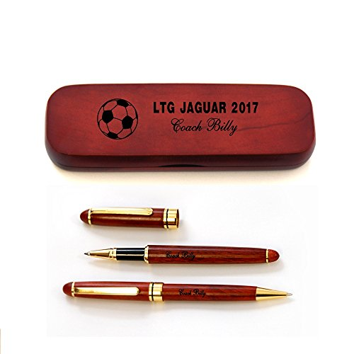Personalized Pen Sets for Soccer Coaches