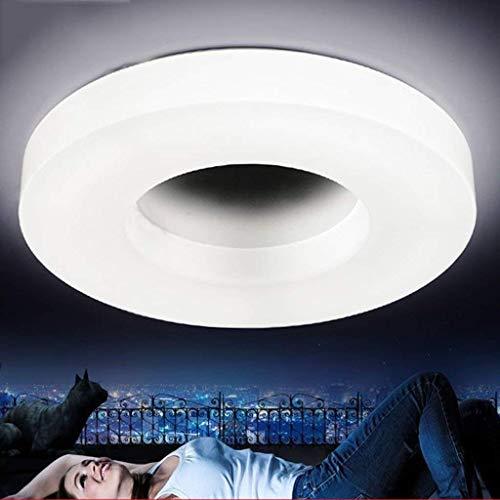 Wandlamp, modern, eenvoudig, rond, acryl, voor kinderkamer Kindnauy, plafondlamp, kleurverschil, badkamerlamp van aluminium