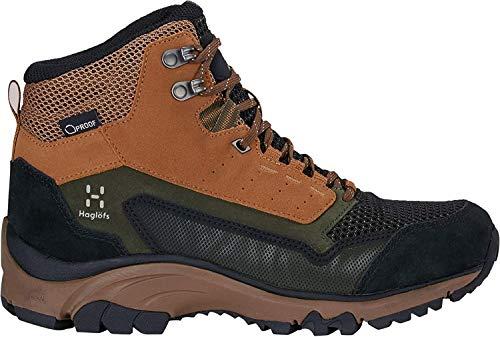 Haglöfs Damen Skuta Mid Proof Eco Trekking- & Wanderstiefel, Braun (Oak/Deep Woods 47t), 39 1/3 EU