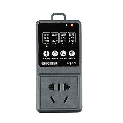 Aquarium Smart Timer Switch Socket Fish Tank Light Controller Dimmer Modulator