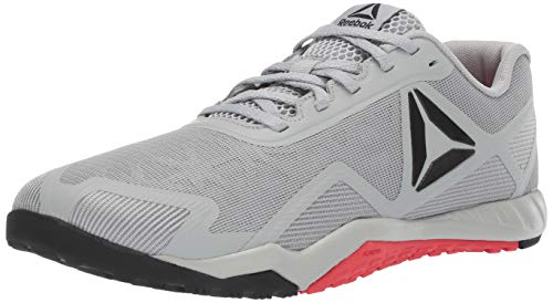 Reebok Men's ROS Workout TR 2.0, Stark Grey/Primal red/Black, 10 M US