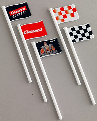 Carrera Go!!! Carrera Digital 143 - 20061650 - Véhicule Miniature et Circuit - Pièce Détachée - Drapeaux