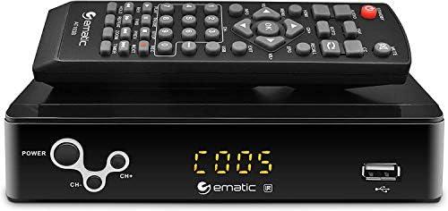 Digital Converter Ematic Digital TV Converter Box with Recording Playback Parental Controls product image