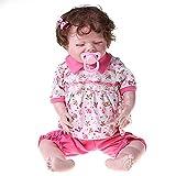 unknows Poupée bébé garçon, poupée bébé vivant aux yeux fermés, cadeau pour bébé, poupée interactive, poupée de bébé garçon, poupée pour enfants