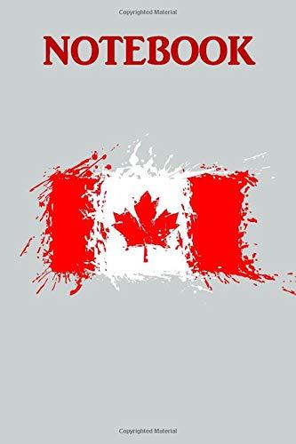 Vintage Canadian pride Canada Flag Notebook