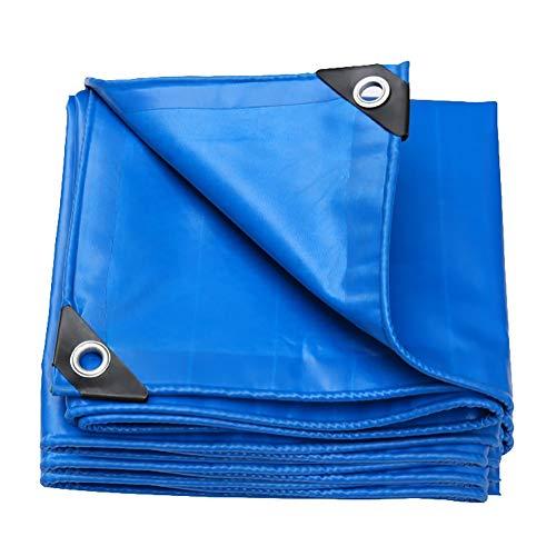 Bâche Grande bâche imperméable, bâches se pliantes de PVC, couverture de remorque de tente de camping de plein air, 550G / M² (Size : 5x6m)