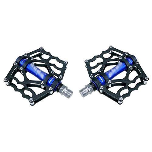XYXZ Pedales de Plataforma para Bicicleta Pedal de Bicicleta Ultraligero, 3 rodamientos, Antideslizante, aleación de Aluminio Duradera, absorción de Impactos para Pedales híbridos de bicicle